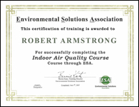Indoor Air Quality course